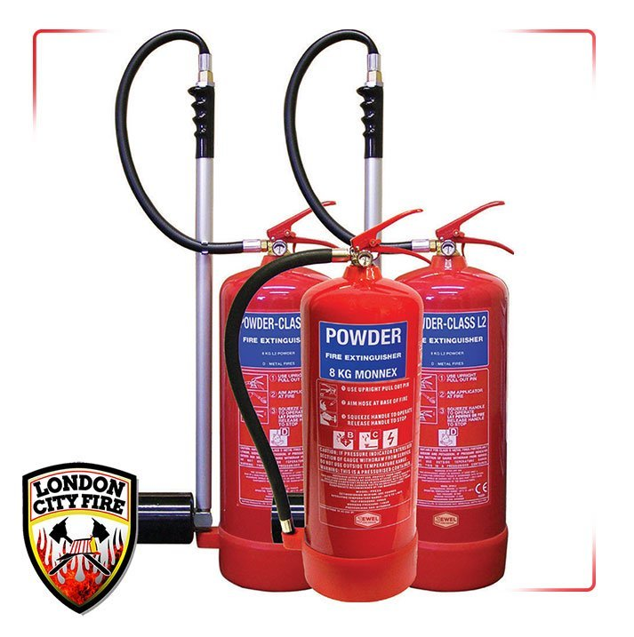 1 Powder Extinguisher  fire extinguishers london city fire