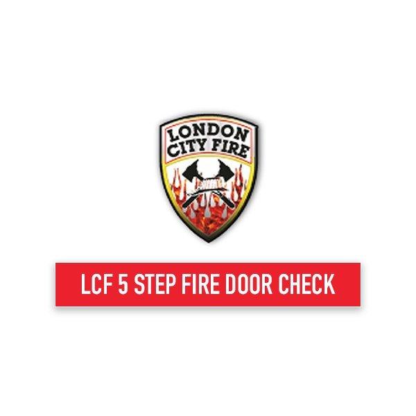 LCF 5 Step Fire Door Check
