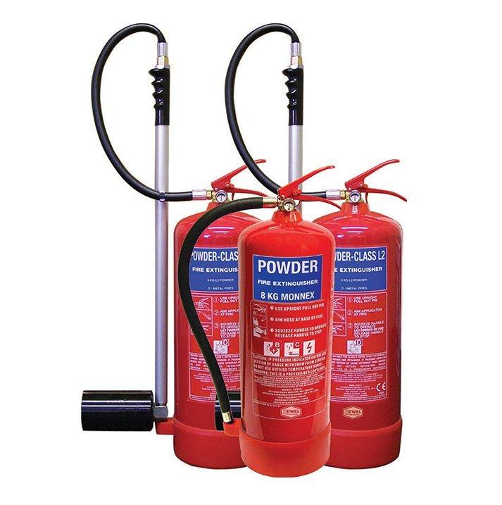 Powder 2 Fire Extinguishers London City Fire