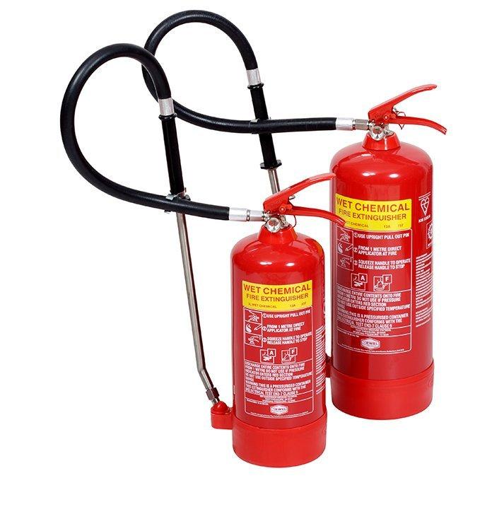 Wet Chem Fire Extinguishers London City Fire