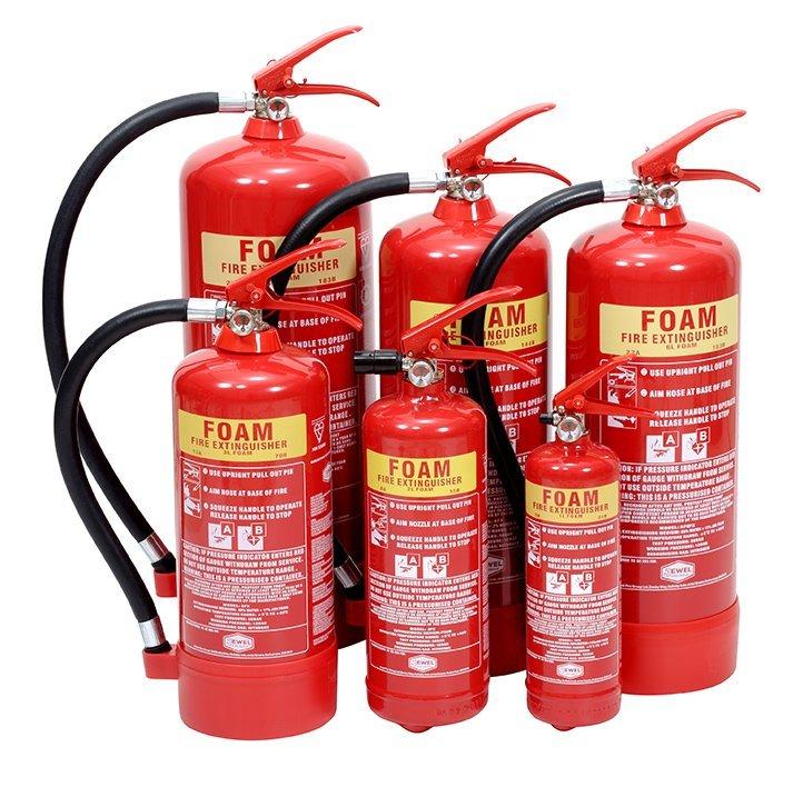 Foam 2 Fire Extinguishers London City Fire