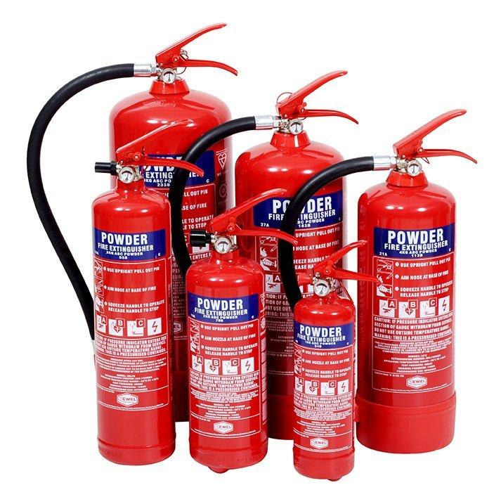 Powder 5 Fire Extinguishers London City Fire