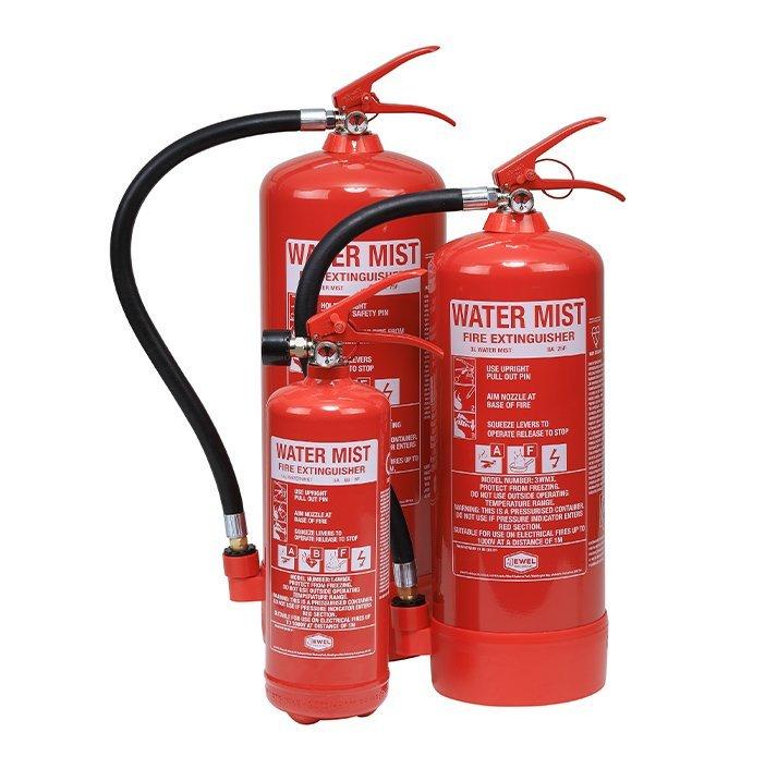 Water mist Fire Extinguishers London City Fire