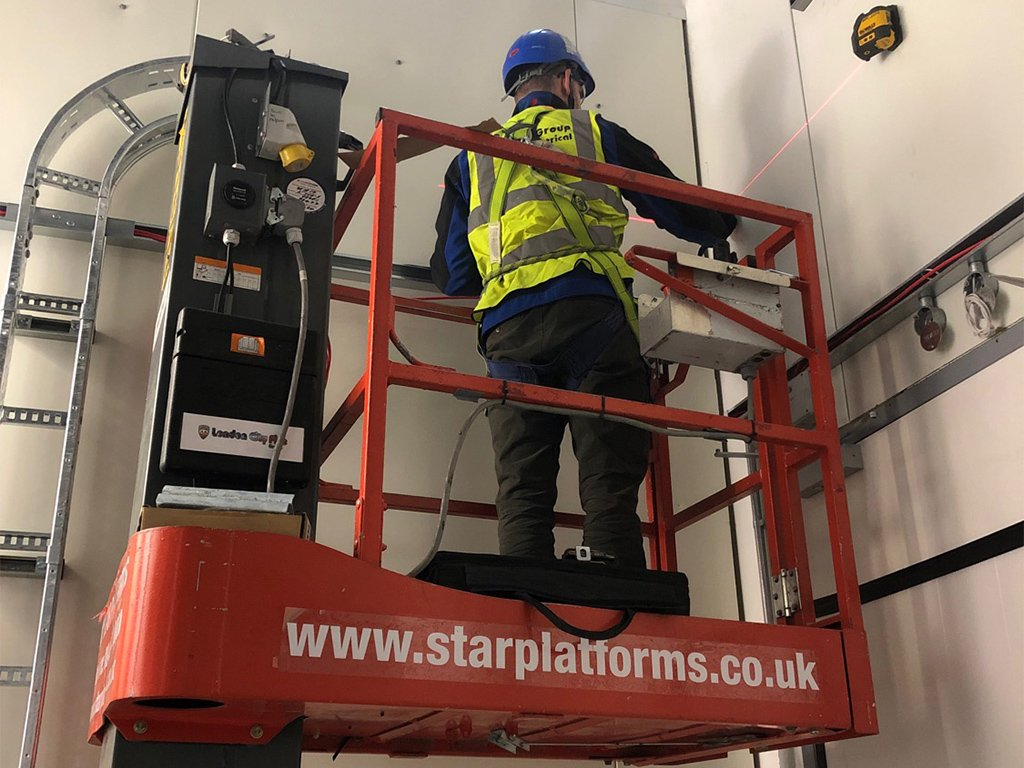 1 data centre build out commercial electrical contractor london