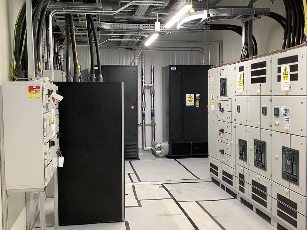 10 data centre build out commercial electrical contractor london
