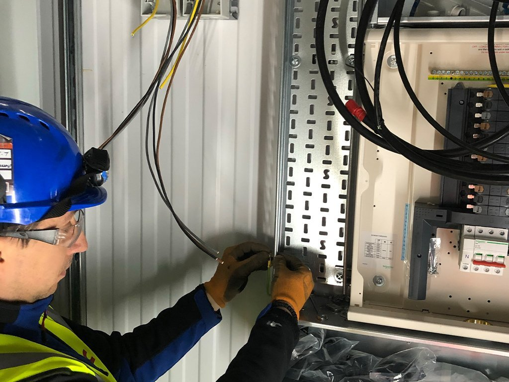 2 residential electrical contractor london