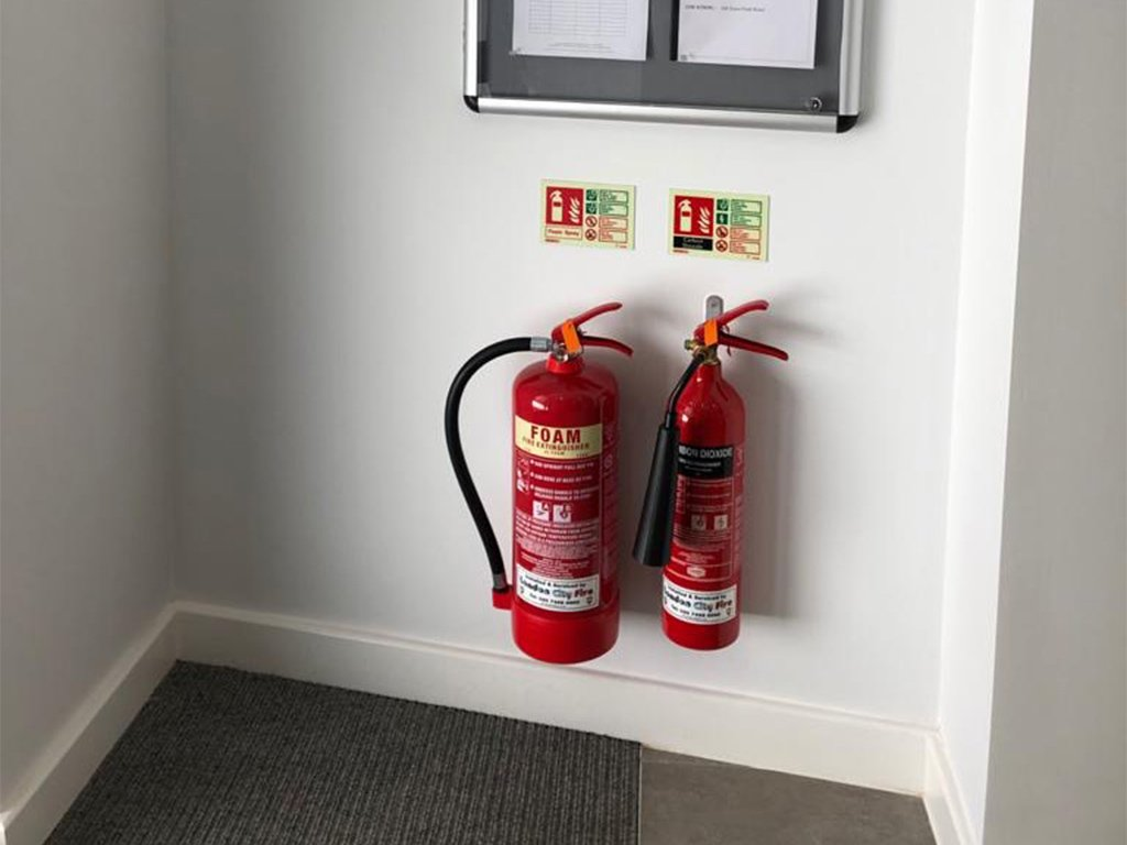 London City Fire Extinguishers Installation