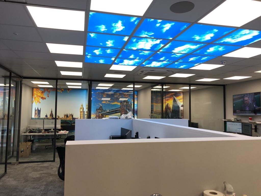 We do full fit out electrical work