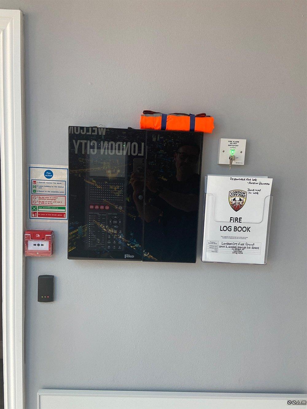 fire alarm installation london city fire