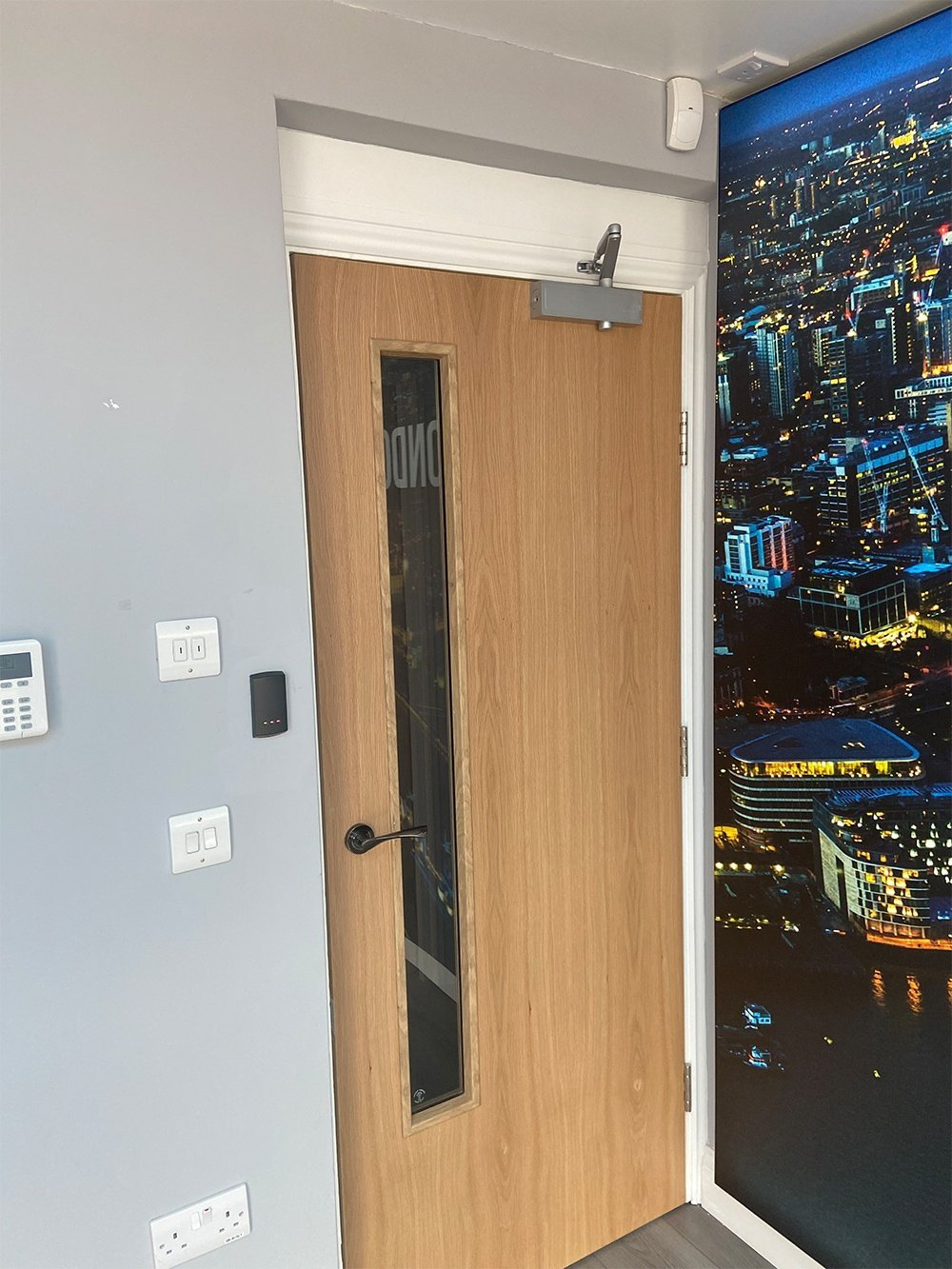 fire door by london city fire
