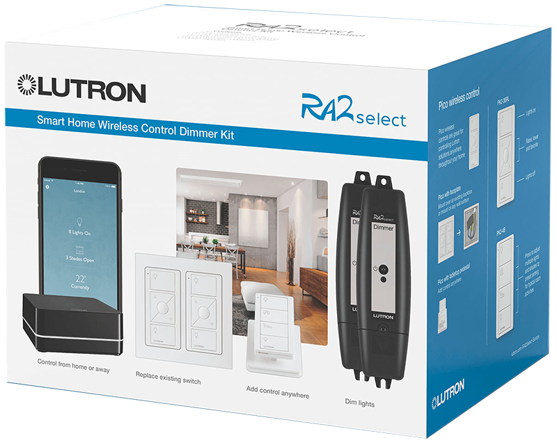 lutron ra2 smart home lights system